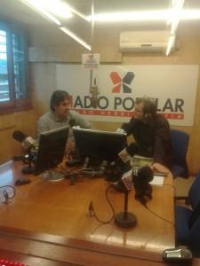 "Pello Urizar en ""Radio Popular Bilbao"""