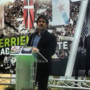 Urizar EH Bilduren mitina Donostian