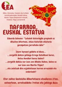 Nafarroa, Euskal Estatua  @ Gasteizko Alkartetxea | Vitoria-Gasteiz | Euskadi | Espainia