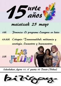 15 aniversario de Bizigay