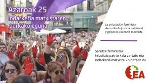 A25 saretze feminista